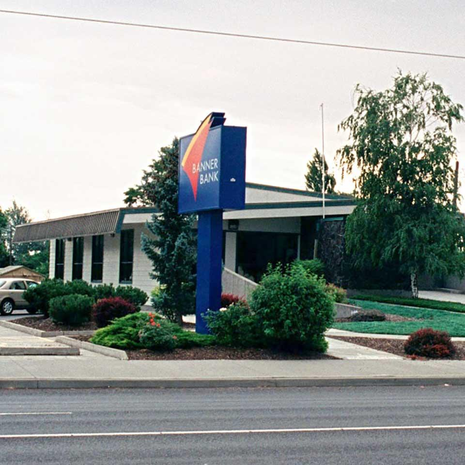 Banner Bank branch in Stanfield, Oregon