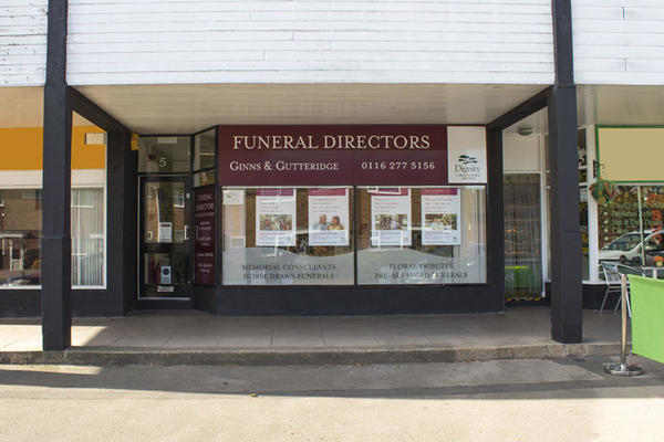 Ginns & Gutteridge Funeral Directors in Countesthorpe, Leicester