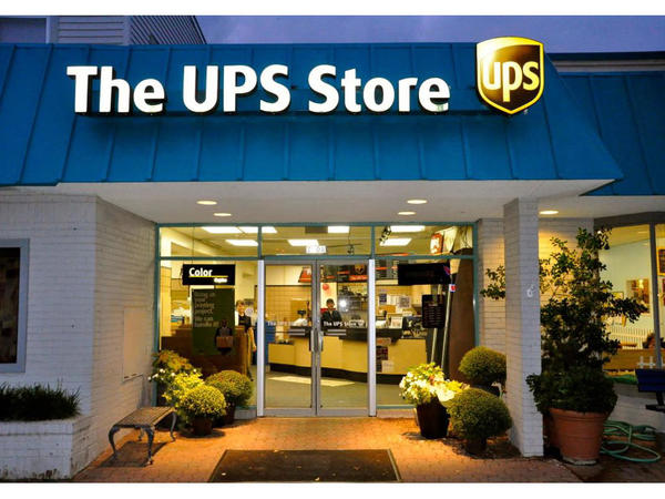 Facade of The UPS Store Alexandria