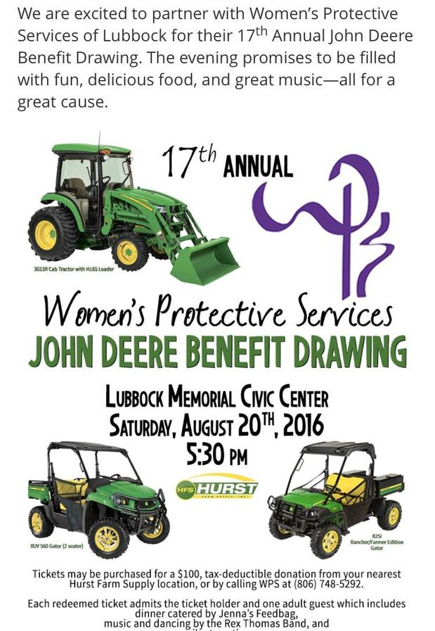 Doug Townsend - John Deer Benefit