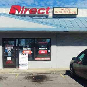 Front of Direct Auto store at 1423 Magnolia Avenue, Knoxville