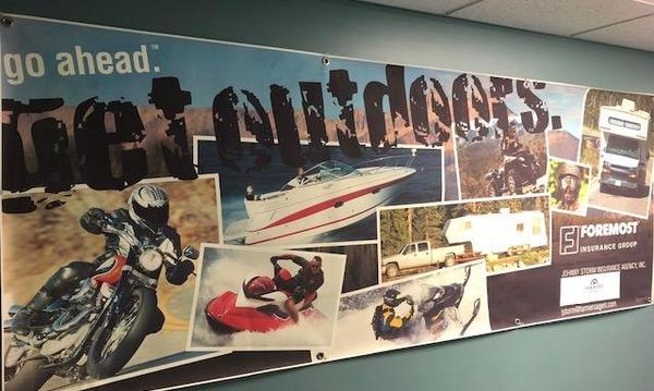 Poster of various extreme sports
