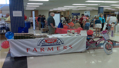 Health & Safety Fair at Lincoln High School in Sioux Falls, SD
