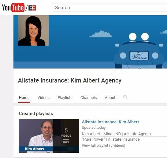 Kim Albert Agency - Check us out on YouTube!