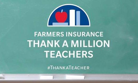 Thank a Teacher A brighter tomorrow starts in the classroom today.