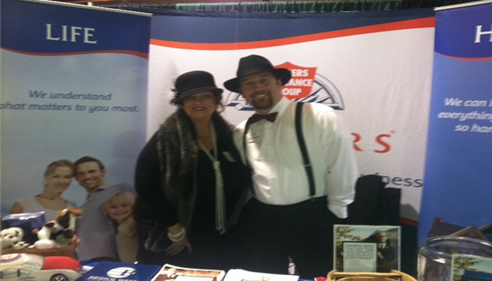 Andy Queen at Joplin Area Chamber of Commerce Business Expo 2014