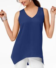 Image of I.N.C. Handkerchief-Hem Top, Created for Macy's