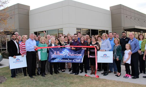 Ribbon cutting at our new location 12/2015.