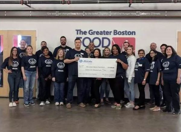 John P Slosek Jr - Supporting the Greater Boston Food Bank