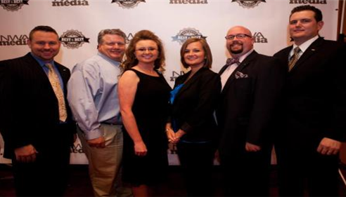 Myself and local Farmers agents at the Best of the Best NW Arkansas banquet.