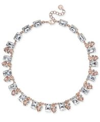 Image of Charter Club Gold-Tone Crystal Collar Necklace, Created for Macy's