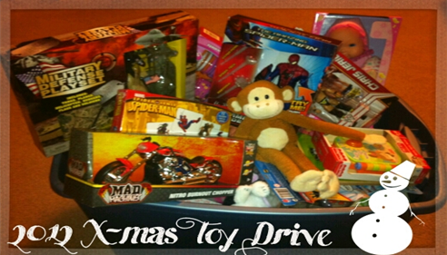 The Mercado Agency 2012 Christmas Toy Drive. Thank you to all who helped!
