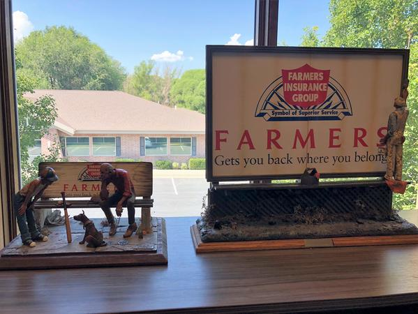 Love the Farmers memorabilia with the logo I knew for 25+ years.