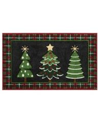 "Image of Nourison Three Trees 18"" x 30"" Accent Rug"