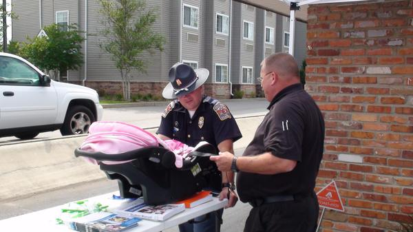 Kenneth Morgan - Saraland Police Department's Child and Infant Car Seat Safety Program
