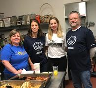 Chantilly Allstate Insurance Agent Volunteering at the NVFS SERVE family shelter in Virginia