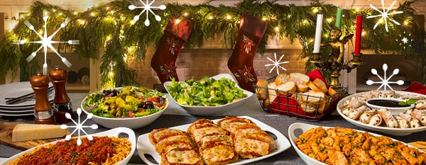 Host Your Company's Christmas Party at Buca di Beppo