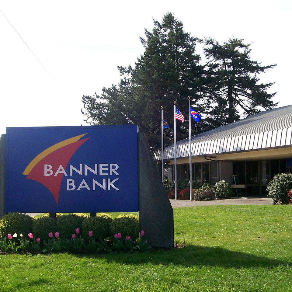 Banner Bank branch in Florence, Oregon
