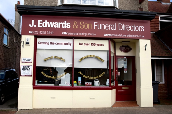 J Edwards Funeral Directors Waterlooville
