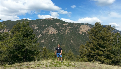 MAY'S PEAK, HIGH DRUVE, COLORADO SPRINGS, COLORADO