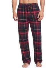 Image of Polo Ralph Lauren Men's Plaid Flannel Pajama Pants