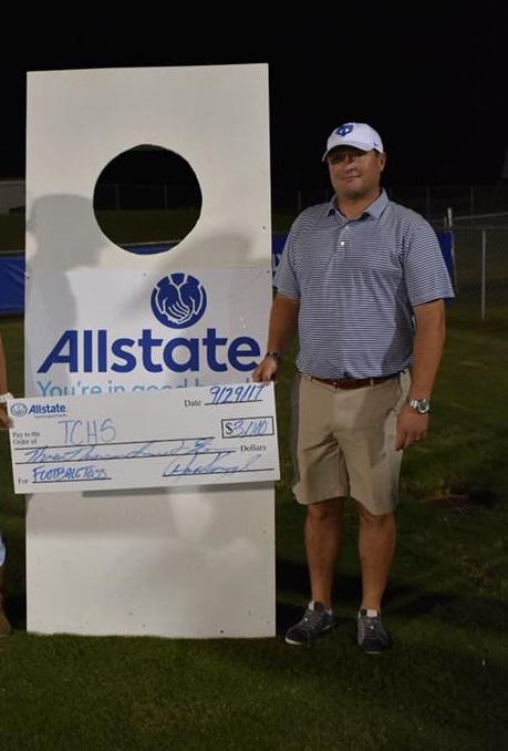 Andrew Kniphfer - Allstate Foundation Grant for Tuscaloosa County High School