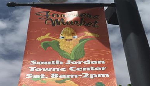 Every Saturday from Aug-Oct, come to the Farmers Market in front of our office!