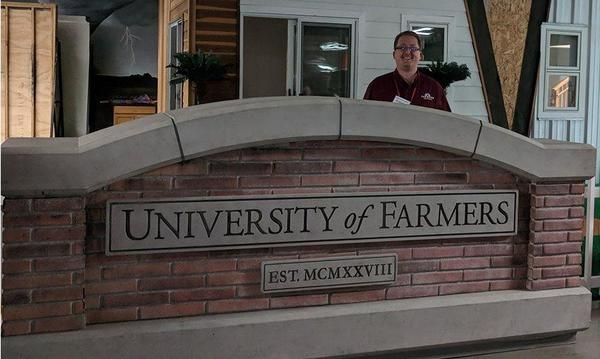 Jeffrey at University of Farmers