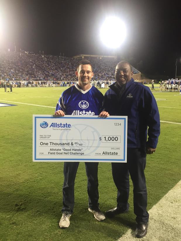Reginald Wright - Allstate Kick Scholarship Fund