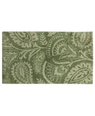 "Image of Bacova Cashlon Lilly Green 27"" x 45"" Accent Rug"