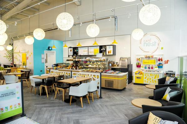 Mothercare Manchester cafe