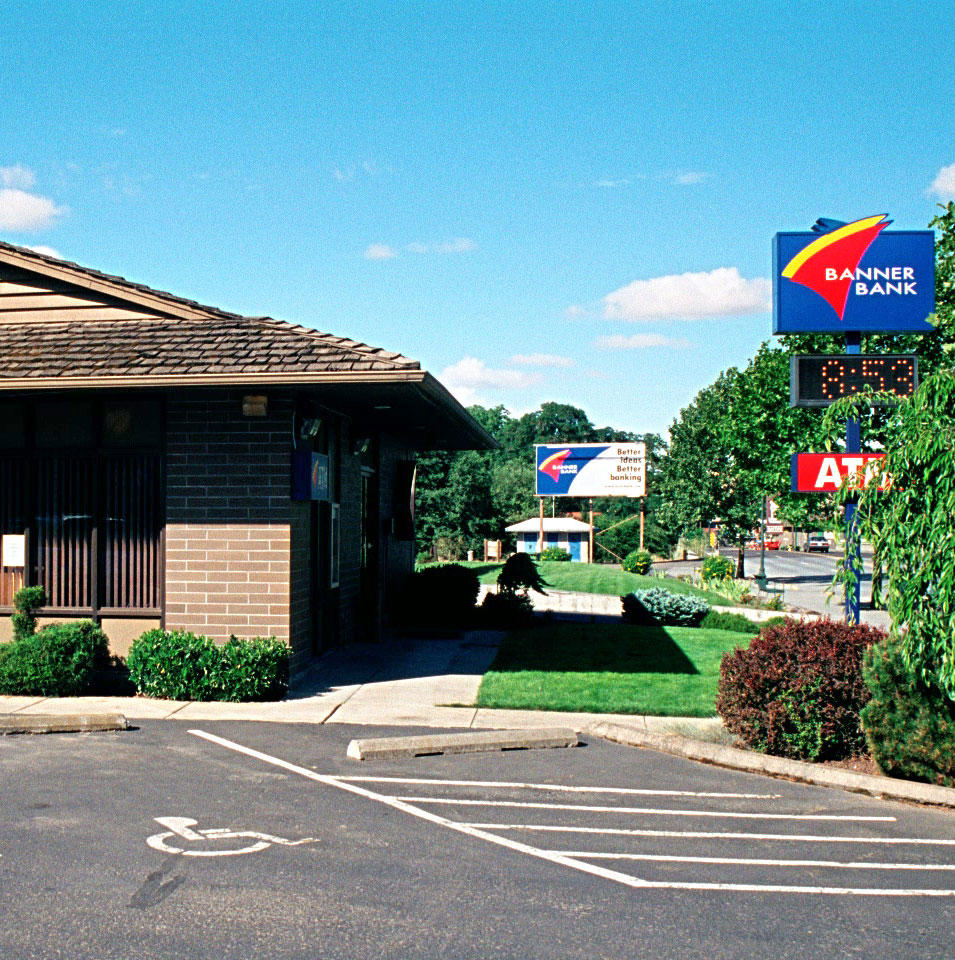 Banner Bank branch in Dayton, Washington