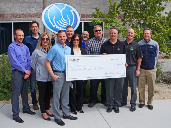 Brian Ligon - Allstate Foundation Helping Hands Grant for Step2Reno