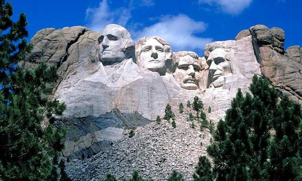 Mount Rushmore in South Dakota