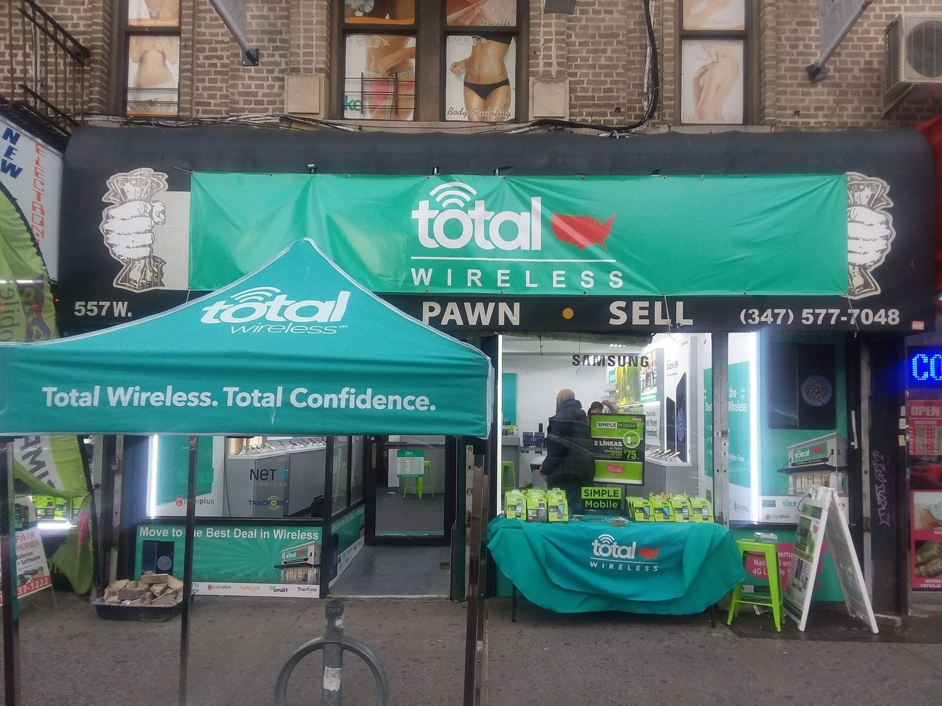 Total Wireless Store front image in New York,  NY
