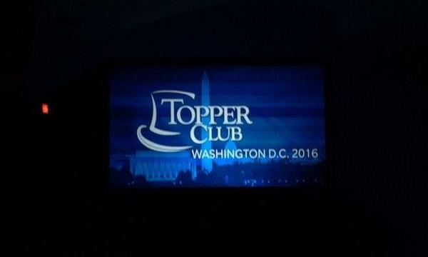Topper Club 2016:  Washington, DC