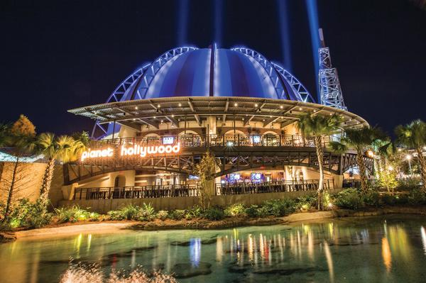 Unique Disney Springs Dining Experience Planet Hollywood