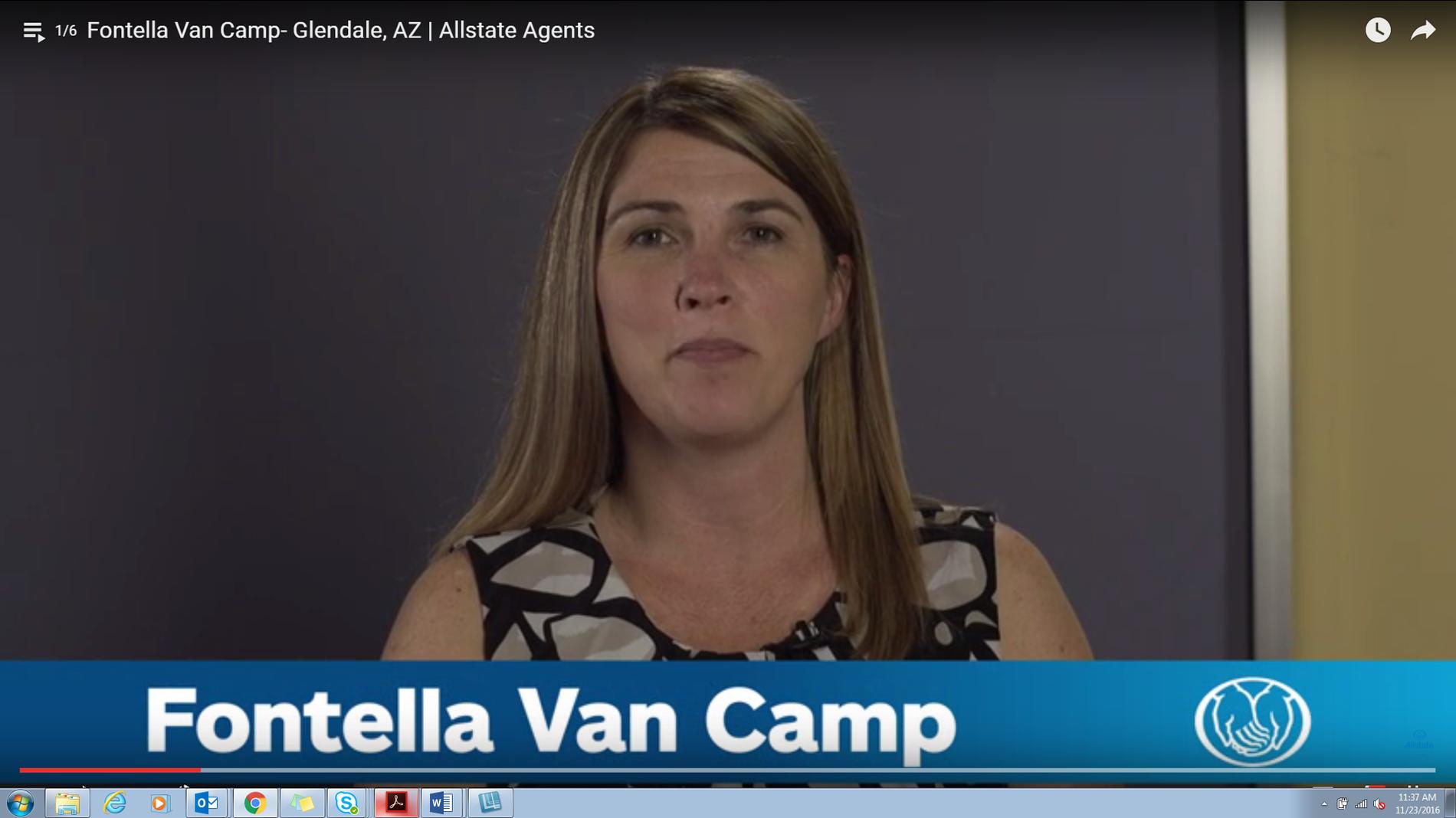 Allstate | Car Insurance in Glendale, AZ - Fontella Van Camp