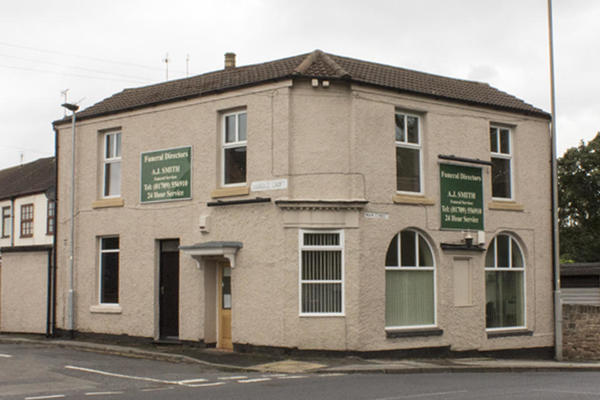 A J Smith Funeral Directors in Greasbrough, Rotherham