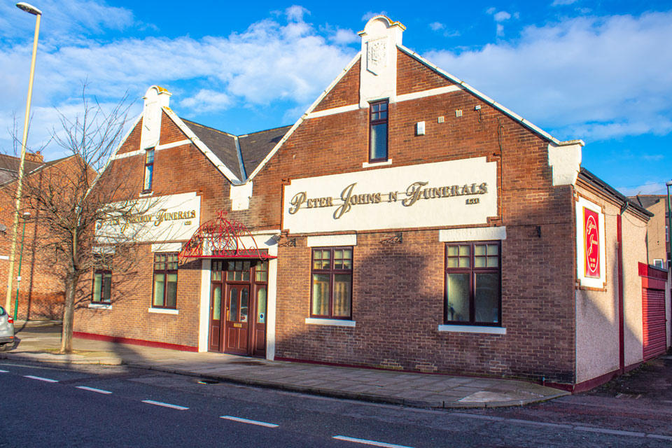 Peter Johnson Funeral Directors in South Shields