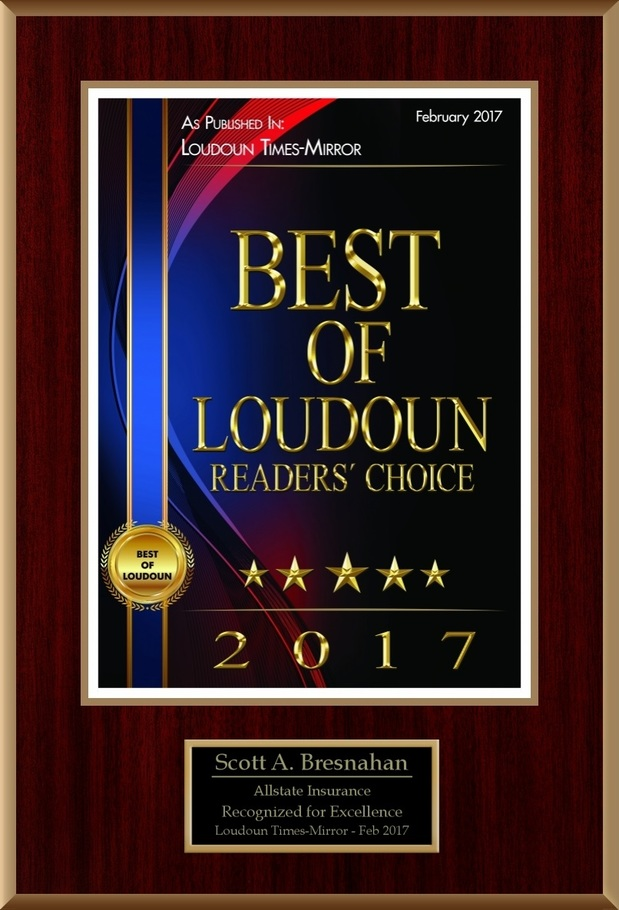 Scott A. Bresnahan - Thank you for voting us one of Loudoun's best!