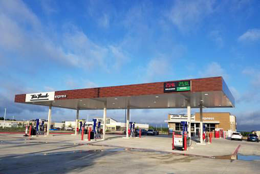 Picture of the Tom Thumb Fuel Center at 858 Laurence Dr in Heath TX