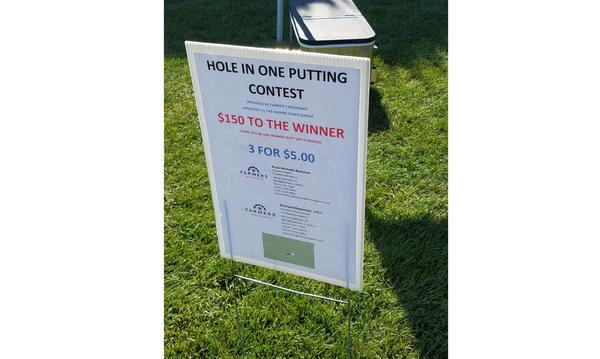 Hole in One Putting Contest