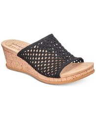 Image of Bare Traps Flossey Slip-On Wedge Sandals