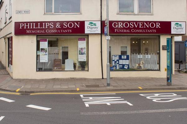 Grosvenor Funeral Directors in Brighton, East Sussex.