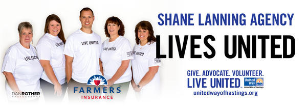 agency staff with Lives United