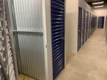 80 Rockwell storage facility interior