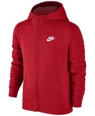 Image of Nike Full-Zip Club Hoodie, Big Boys (8-20)