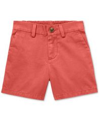 Image of Polo Ralph Lauren Baby Boys Flat-Front Cotton Shorts