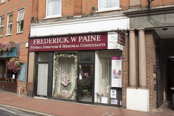 Frederick W Paine Funeral Directors in Raynes Park